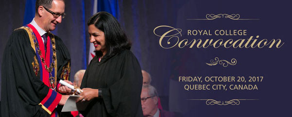 Royal College Convocation 2016, Friday, September 30, 2016, Scotiabank Convention Centre, Exhibit Hall A, Niagara Falls Canada