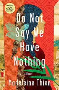 Do Not Say We Have Nothing, Book Cover