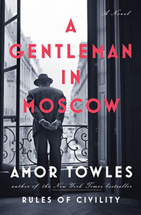 A Gentleman in Moscow, Book Cover