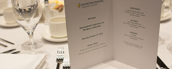 International Residency Education Awards Dinner