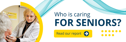 Read our report: who is caring for seniors