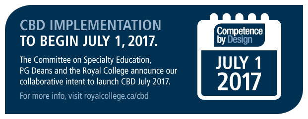 CBD implementation to begin July 1, 2017.