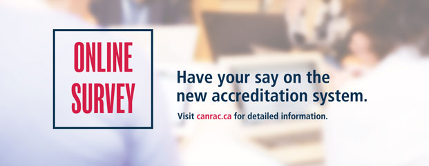 Have your say on the new accreditation system - online survey